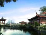 古典中式园林建筑模型设计方案