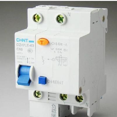 电识图安装教程配电箱漏电保护器与空气开关区别