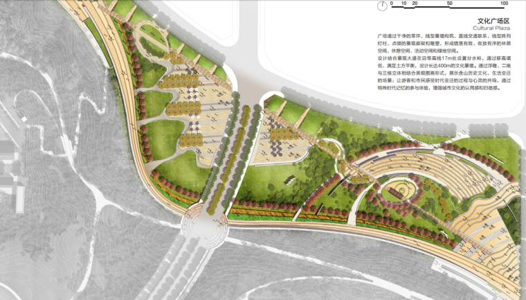 [安徽]含山县山体高差森林公园修建性详细规划设计B-7文化广场