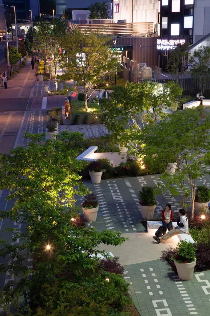 公共景观设计·为什么别人的商业街如此招人_5