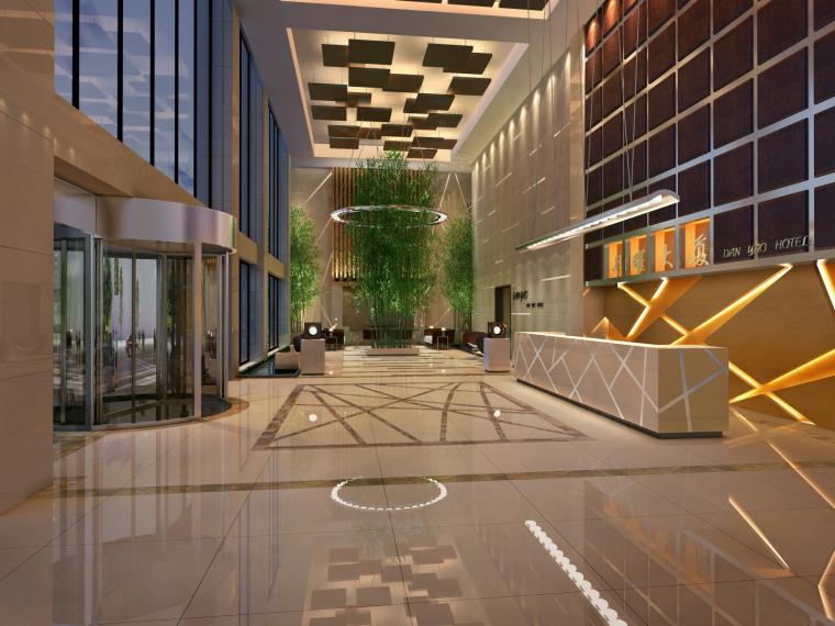 [北京]王府井丹耀大厦样板房设计概念方案