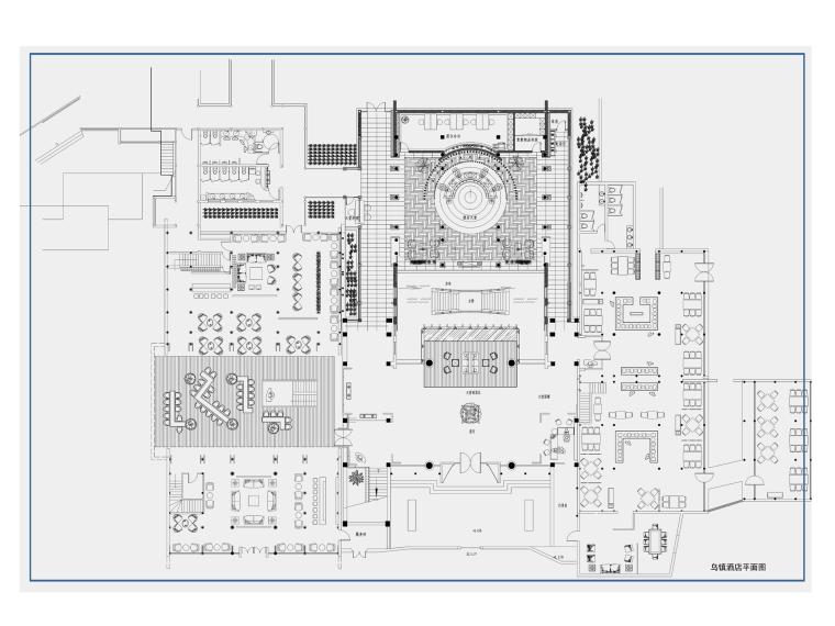 乌镇酒店室内装修概念设计方案