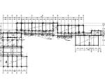 [上海]5层砖混砌体结构小学教学楼抗震加固施工图(建筑结构水电)