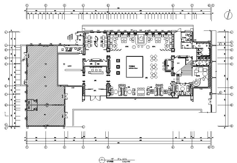 [沈阳]美的时代城售楼处设计施工图及效果图