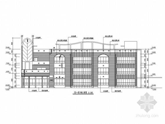 三层框架结构幼儿园结构施工图(含建筑图)
