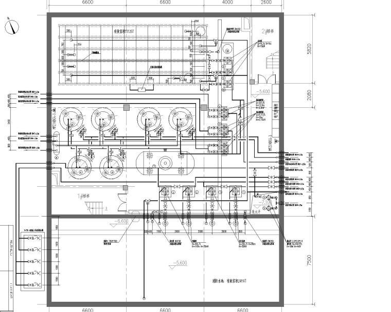 水泵房施工图