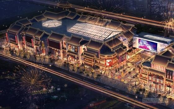 16万平北中国首座商旅文综合体结构施工图(含详细建筑图 400张图)
