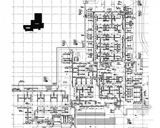 [重庆]重点大学教学楼空调通风排烟系统设计施工图(甲级院 风冷热泵)