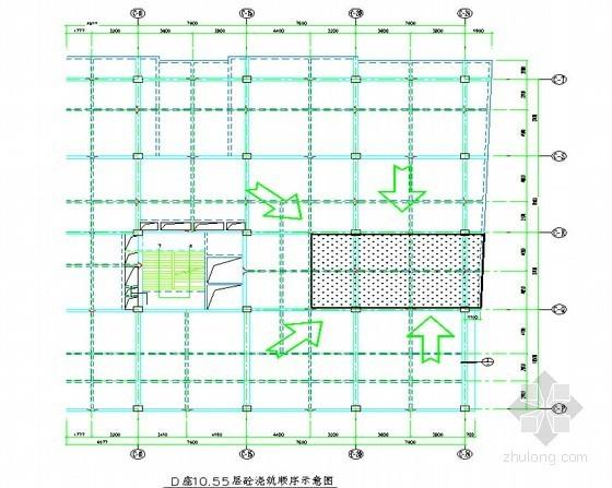 [四川]多层框架结构综合楼超高支模施工方案(多图)