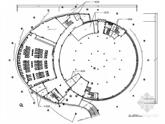 [江苏]国际丝绸集团商务贸易中心办公楼装修设计施工图