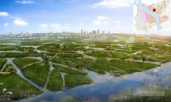 [成都]亮丽沿岸风景线城市景观规划设计方案