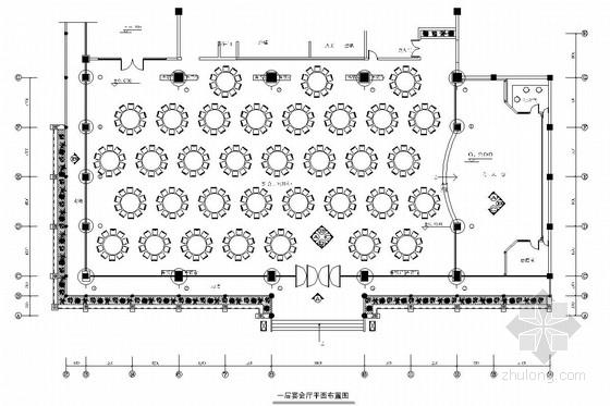 [湖北]新兴热门旅游城市迎宾苑酒店宴会厅装修图