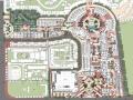 [广西]西班牙风格浪漫购物商业广场规划亿客隆彩票网址方案(独家)