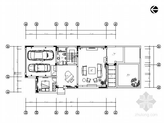 [原创]现代风格两层别墅样板房室内装修施工图(含高清效果图 推荐!)