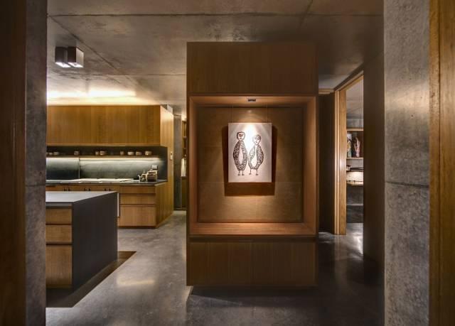 美式室内设计效果图-做旧的装潢装修_11