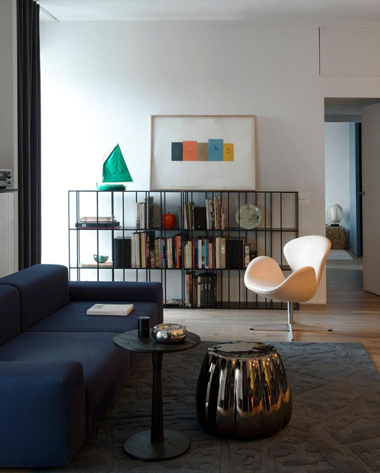 米兰公寓:艺术美感精致_3