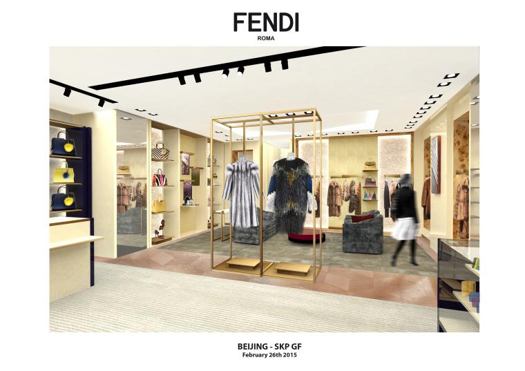奢华品FENDI设计施工图(附效果图+新理念设计手册+物料表)-名师联 (1)