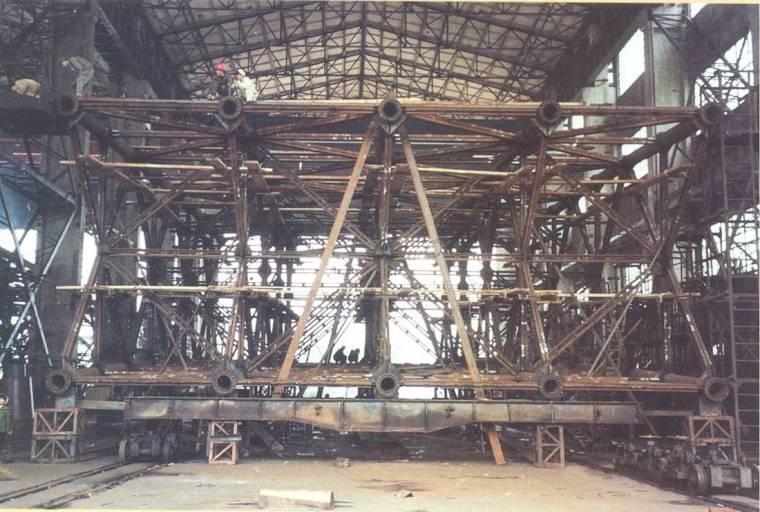 [四川]长江大桥劲性骨架钢筋混凝土拱桥施工方案