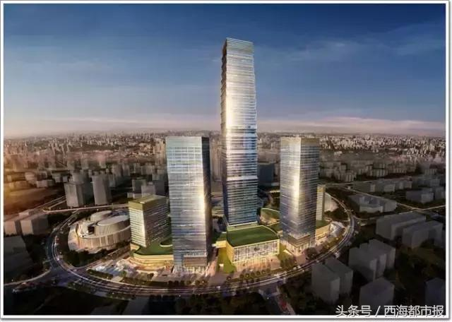 303米!青藏高原第一高楼将屹立海湖新区!西宁还建主题公园……