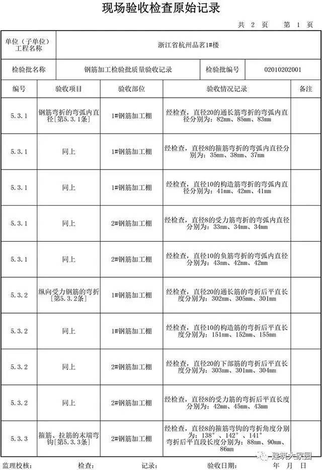 建筑工程资料填写讲解-钢筋加工(老资料员带你飞)_11
