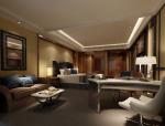 套房卧室3D模型下载