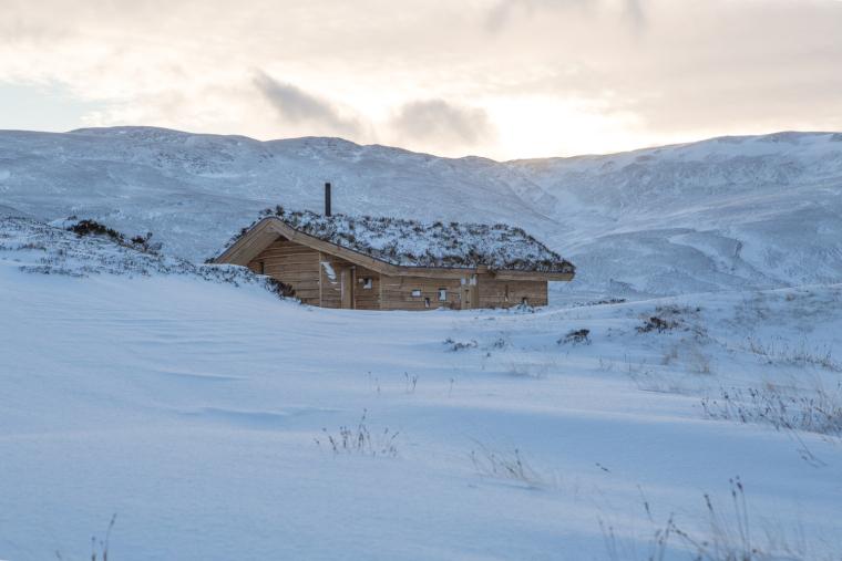 英国Culardoch Shieling小屋