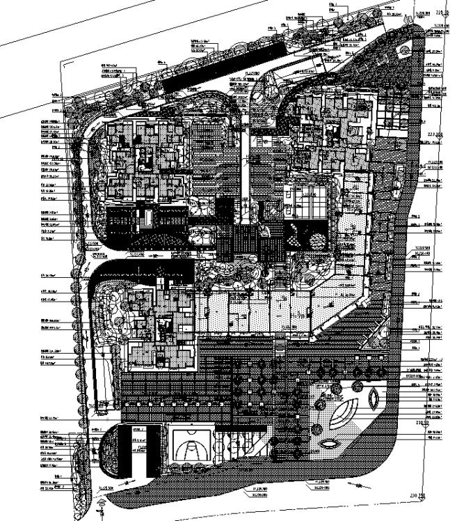 [重庆]低碳工业园区高端住宅景观设计全套施工图(2016最新)_1