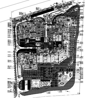 [重庆]低碳工业园区高端住宅景观设计全套施工图(2016最新)