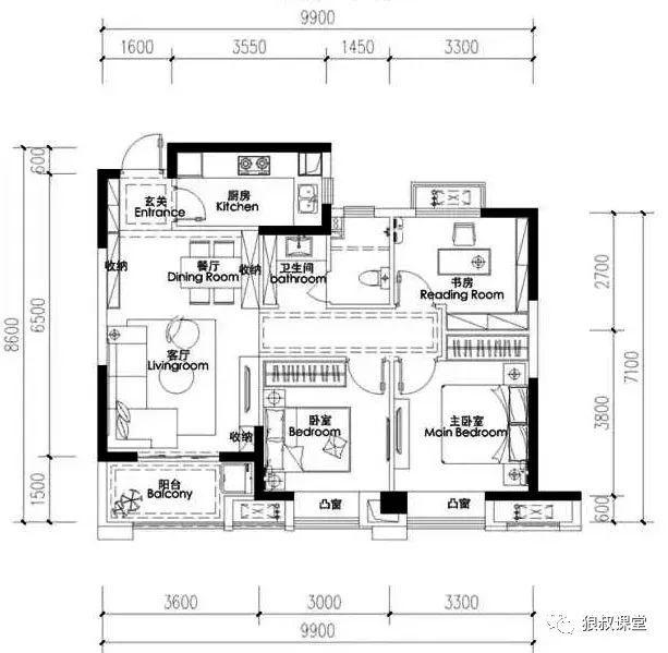 [干货] 960套户型优化设计方案精选
