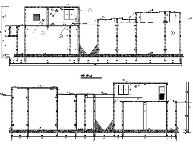 海南某果汁加工厂污水处理站安装施工图纸