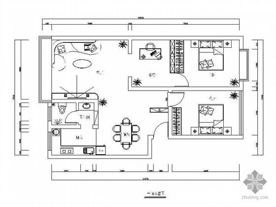 [株洲]三室两厅设计方案