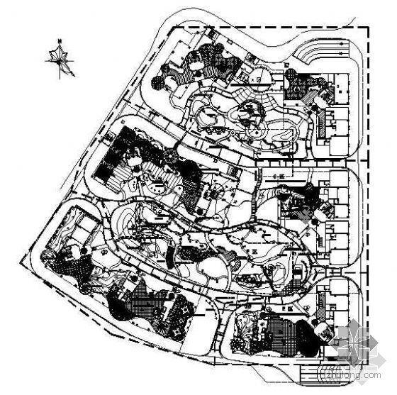 深圳小区外环境设计图