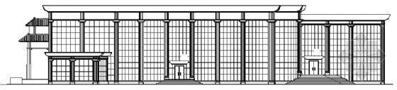 某县政府二层会堂建筑施工图