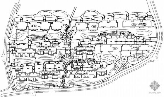 南京小区景观施工图套图