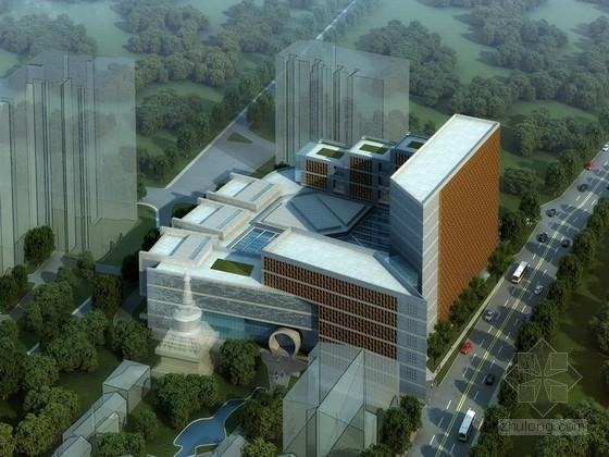 [北京]10层现代风格文化馆建筑方案文本