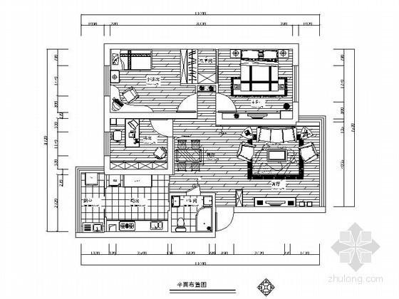 [宁波]三居两厅室内装修图