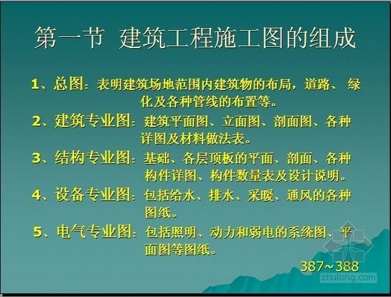 [新手必备]建筑工程施工图识图讲义(图文并茂 46页 )