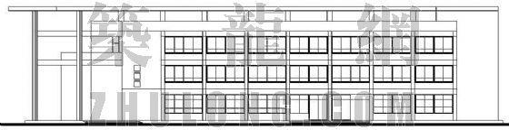 某学校餐厅建筑施工图