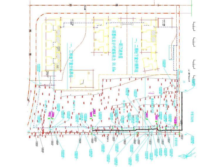 [湖南]深基坑放坡土钉墙支护施工图及计算书