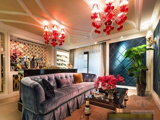 [杭州]220平方古典风格双层别墅室内装修图(含实景)实景图