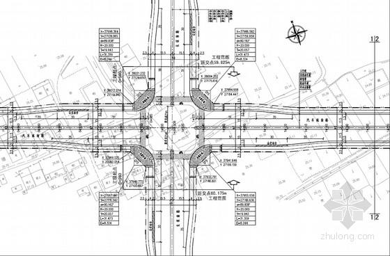 [PDF]城市40m宽双向6车道工程全套施工图(136页 道路 给排水 交通工程)