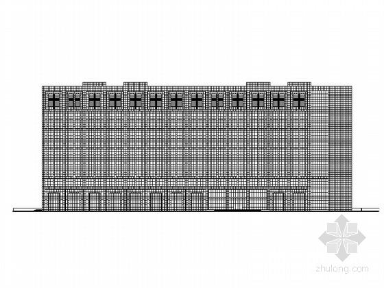 [江苏]12层剪力墙结构办公建筑设计施工图(知名设计院)