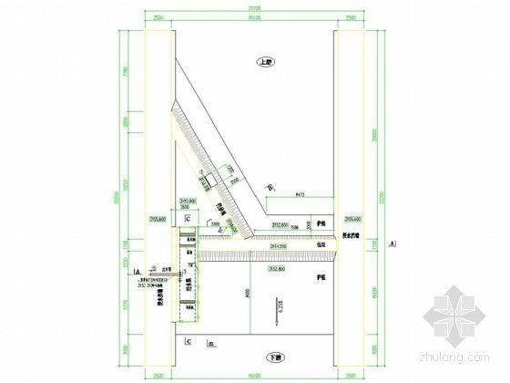 [四川]小型河道拦河坝取水工程施工图