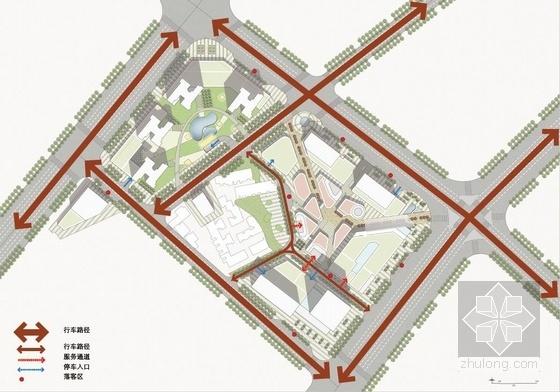 [武汉]超高层一梯四户塔式花园住宅楼建筑设计方案文本(含两套方案)-超高层一梯四户塔式花园住宅楼建筑分析图
