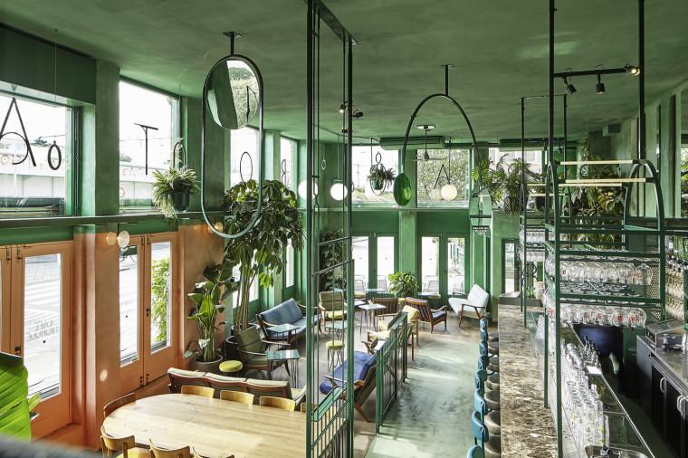 热带风情 绿野雨林 | 荷兰阿姆斯特丹酒吧设计