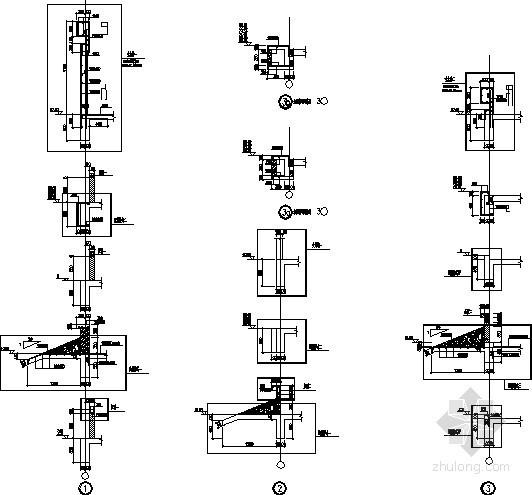 [江苏]33层纯剪力墙住宅墙身剖面节点构造详图