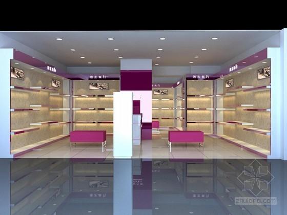 女鞋专卖店3D模型下载