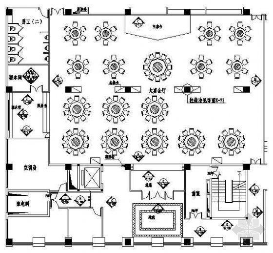 某宴会厅装修设计图