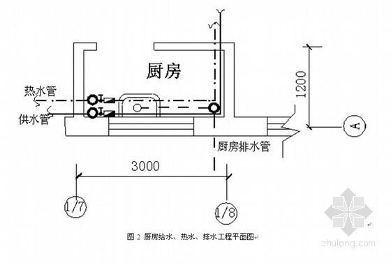 [江苏]给排水工程工程量清单计价实例(含图)
