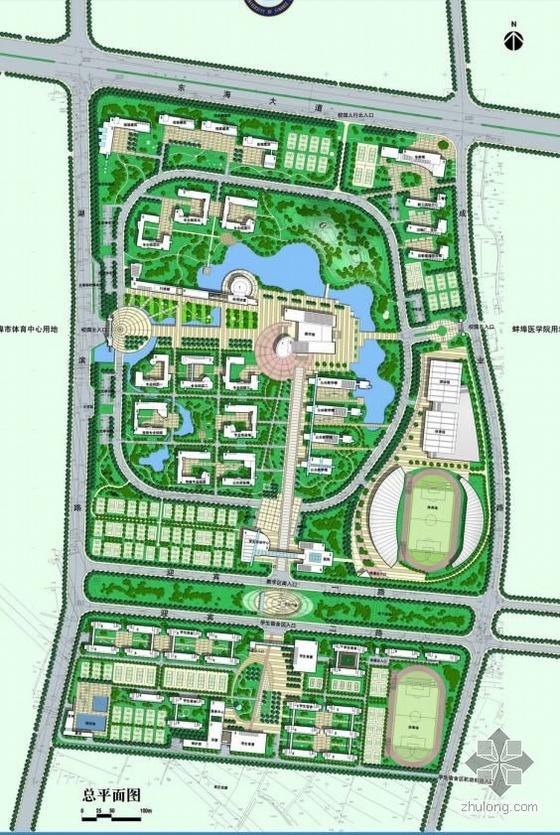 安徽大学景观详细规划方案文本全套